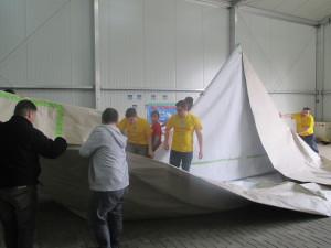 Papierboot-Bau im Abenteuer Park Oberhausen