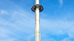 Scream Gyro-Drop-Tower im Heide Park