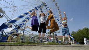 Skyline Park an Ostern 2016 mit Oster-Olympiade und kleinen Geschenken