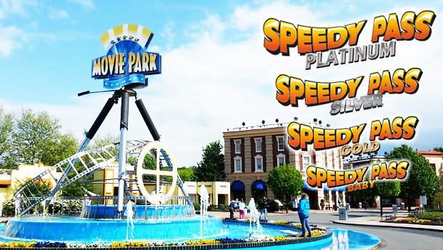 Speedy Pass 2015 im Movie Park Germany