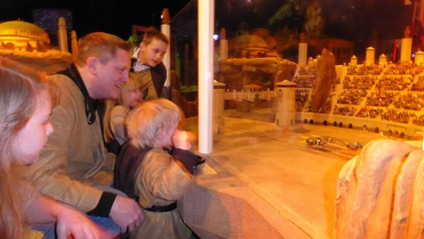 Star Wars Familie im LEGOLAND Oberhausen