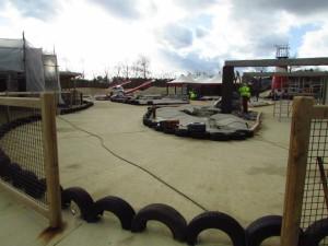 Wüstenflitzer Baustelle im Heide Park - 5