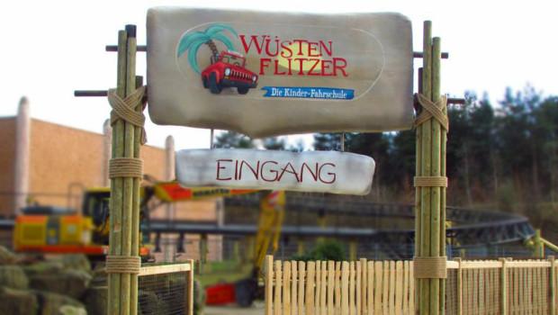 Wüstenflitzer Eingang - Heide Park