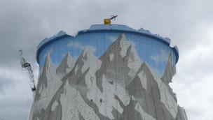 Wunderland Kalkar – Schwerer Sturmschaden am Kühlturm (UPDATE)