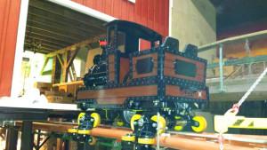 Achterbahn 2015 im Freizeitpark Plohn - Zug