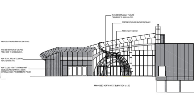 Alton Towers Restaurant-Plan