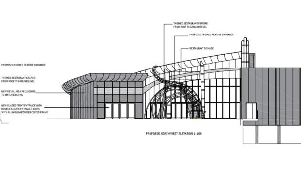 Alton Towers Restaurant-Plan