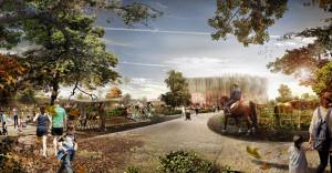 Apassionata Park München - Konzeptgrafik