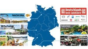 Auto Bild Deutschlands beste Autofahrer Events 2015