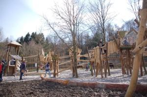 Baumwipfelpfad im Freizeitpark Lochmühle - Gesamtansicht