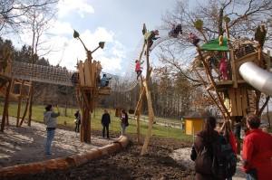 Baumwipfelpfad im Freizeitpark Lochmühle