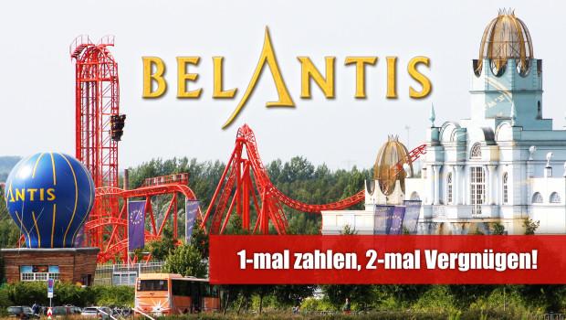 Belantis Gutschein 2-für-1 April 2015