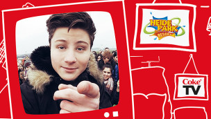 CokeTV mit Dner im Heide Park 2015