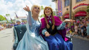 Disneyland Paris - Die Eiskönigin im Sommer 2015