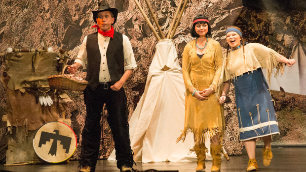 Eifelpark Musical Winnetou 2015