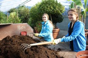 Europa-Park Girls Day 2015 in der Gärtnerei