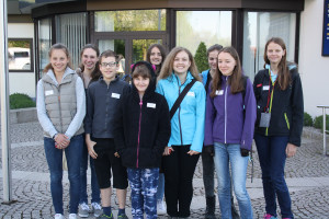 Girls Day 2015 im Europa-Park - Gruppenfoto