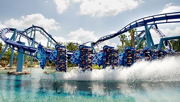 Manta in SeaWorld Orlando