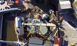 Mechanica Liseberg 2015 Topview