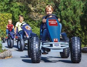 Pedal GoKarts im Playmobil FunPark