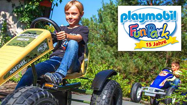 playmobil funpark pedal gokarts als neue attraktion ab mai 2015. Black Bedroom Furniture Sets. Home Design Ideas