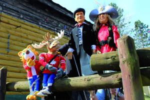 Puppentheater im Fort Fun Abenteuerland