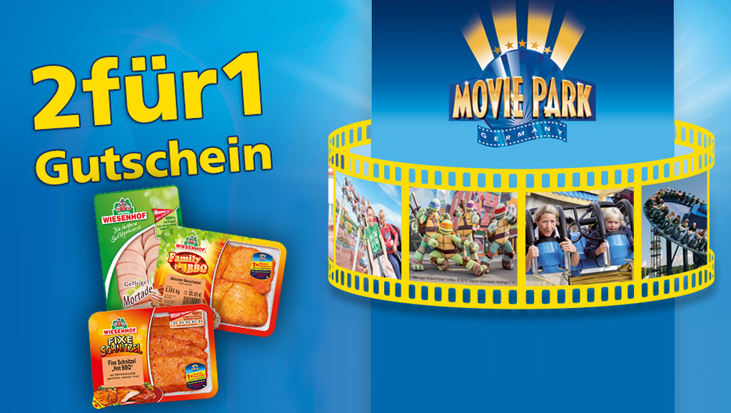 Movie Park 50 Rabatt 2019 Oktober