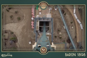 Baron 1898 Abfahrt OnRide