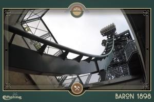 Baron 1898 Abfahrt Testfahrt
