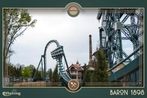 Baron 1898 Testfahrt 2