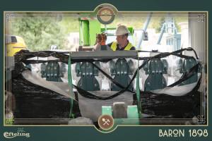 Baron 1898 Züge Ankunft - 2
