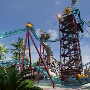 Artwork des Spinning-Coasters (Foto: Busch Gardens Tampa)