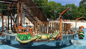 "Eifelpark Gondorf – Wasserkarussell ""Eifler Wasserjagd"" eröffnet"