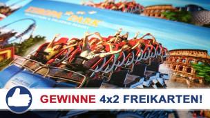 Gewinne 4×2 Eintrittskarten für den Europa-Park beim Freikarten-Freitag KW19/2015