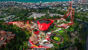 Ferrari Land Plan Konzept
