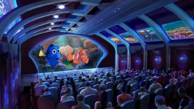 Findet Nemo Freizeitpark-Attraktion