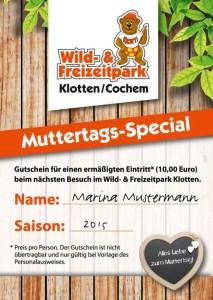 Freizeitpark Klotten Muttertag 2015