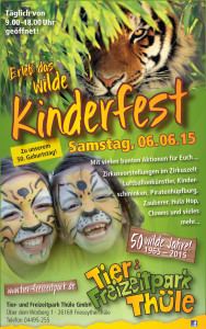 Freizeitpark Thüle Kinderfest 2015