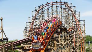 Goliath Holzachterbahn in Six Flags Great America erhält drei Einträge in Guinness-Buch der Rekorde