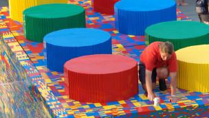 Größter LEGO-Stein der Welt entsteht im LEGOLAND Deutschland – Helfer gesucht!