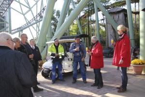 Hansa-Park Kärnan Schienenschluss Feier