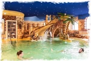Heide Park-Schwimmbad im Hotel