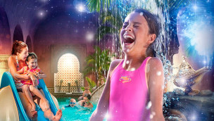 Heide Park Spaßbad im Abenteuerhotel eröffnet am 9. Mai 2015