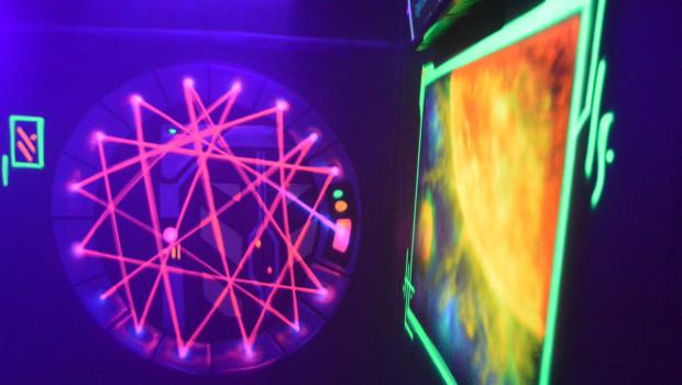 Interactive Lasergames im Rasti-Land