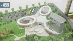Eröffnungsdatum der Jochen Schweizer Arena offiziell: Extremsport-Halle eröffnet im März 2017