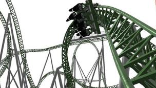 """""""Junker"""" im Powerpark fährt: erlebt im OnRide-Video die Fahrt mit der neuen Katapult-Achterbahn!"""