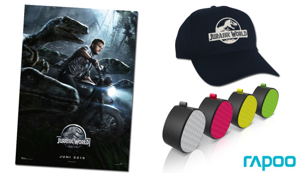 Jurassic World Fan-Paket