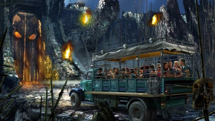 King Kong Universal Orlando Resort Artwork