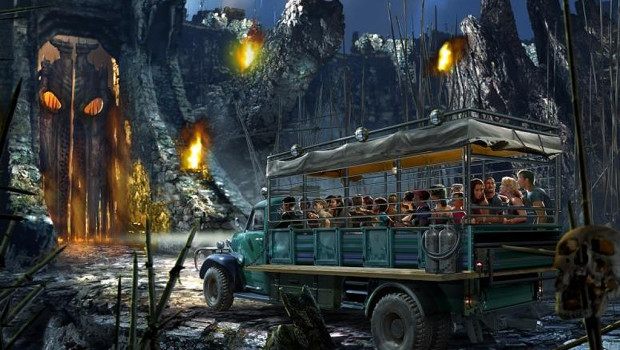 King Kong Universal Orlando Resort Artwork