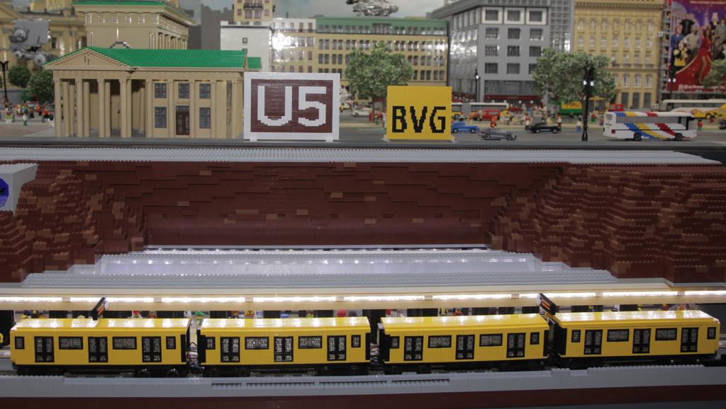 LEGO U-Bahnhof Brandenburger Tor